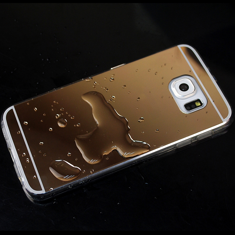 promo code f12e6 13ad0 US $4.99 |NKOBEE Coque For Samsung Galaxy S9 S8 S8 Plus S7 S6 Edge Case  Mirror TPU Phone Cover For Samsung S9 Case S 7 S 8 Accessories-in Fitted  Cases ...