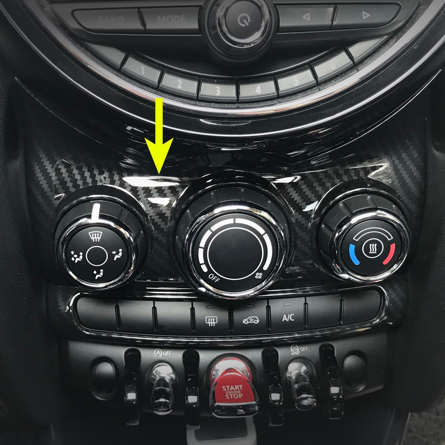 For Mini F55 F56 F57 Dashboard A/C Air Condition Switch