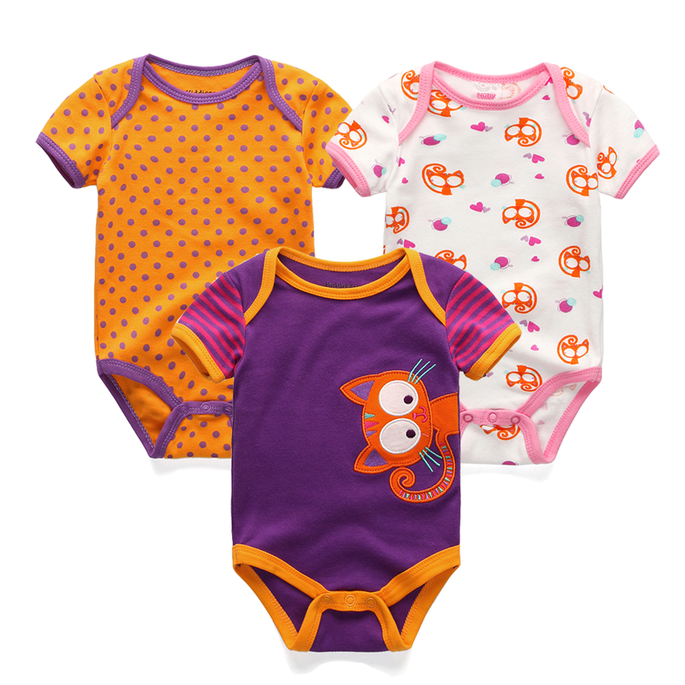 Aliexpress Buy 3Pcs Lot Baby Boy Romper Summer