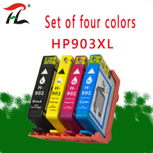 YLC Compatible ink for HP 903 903XL 907XL Ink Cartridge For OfficeJet Pro 6950/6960/6961/6970/6971 All-in-One Printer For Europe marked in ink
