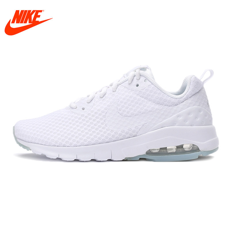 Original NIKE Sneakers Breathable AIR MAX MOTION LW Women's Running Shoes Beginner Summer Air Mesh Sports Sneakers Women Shoes instantarts women flats emoji face smile pattern summer air mesh beach flat shoes for youth girls mujer casual light sneakers