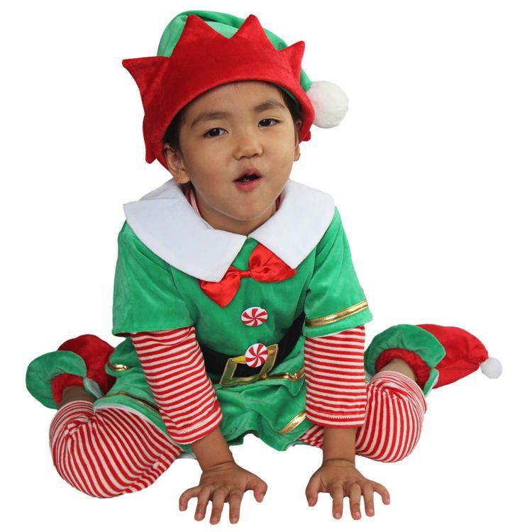 71af9cdd8075 Costume di natale per i bambini del bambino costume di natale per i bambini  pupazzo di neve di natale costume di natale costume da elfo in Costume di  natale ...