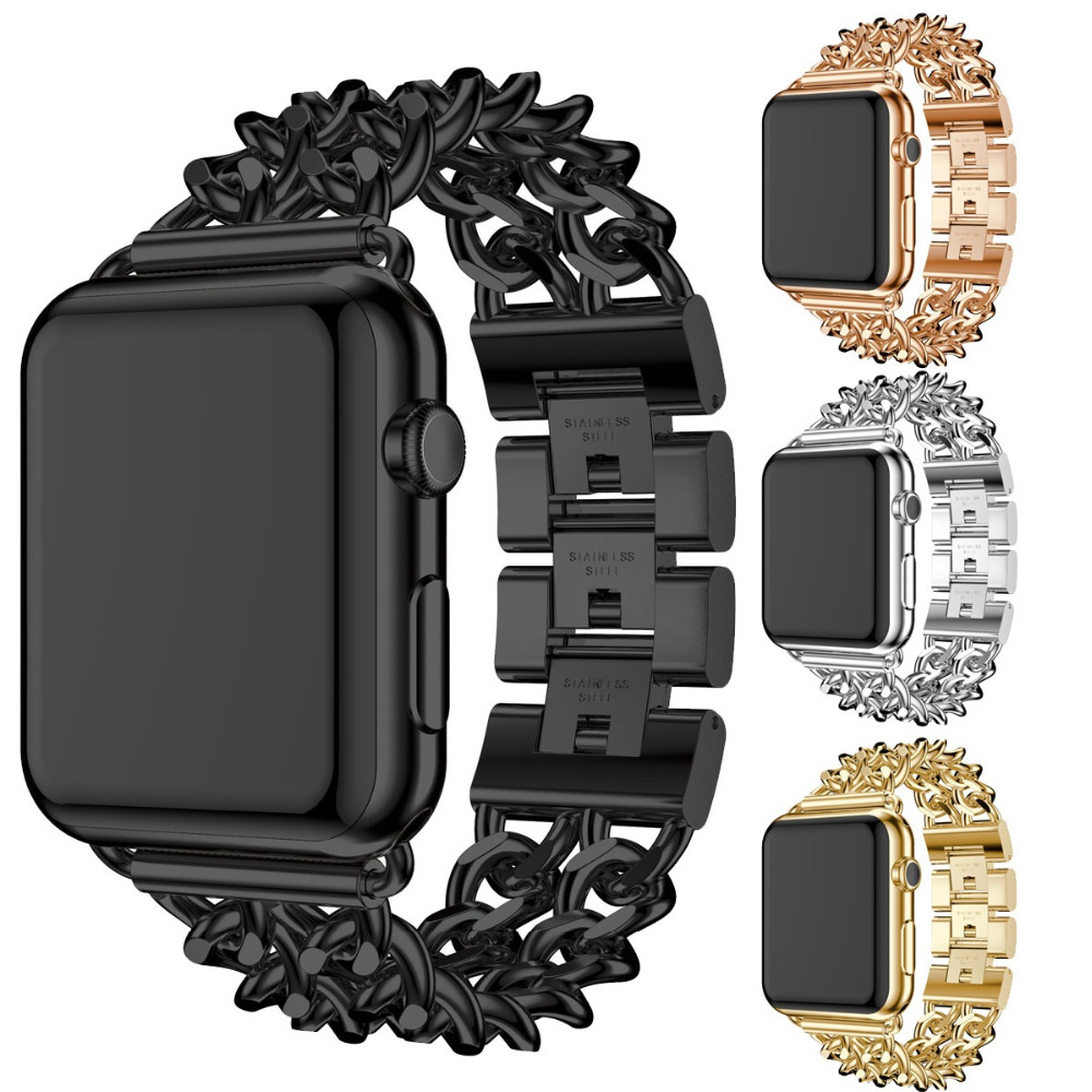 2018 Cowboy Chain Strap For Apple Watch Band 38Mm 42Mm -2404