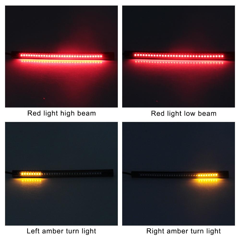 Univerzalno fleksibilno svjetlosno svjetlo kočnice za zaustavljanje - Svjetla automobila - Foto 6
