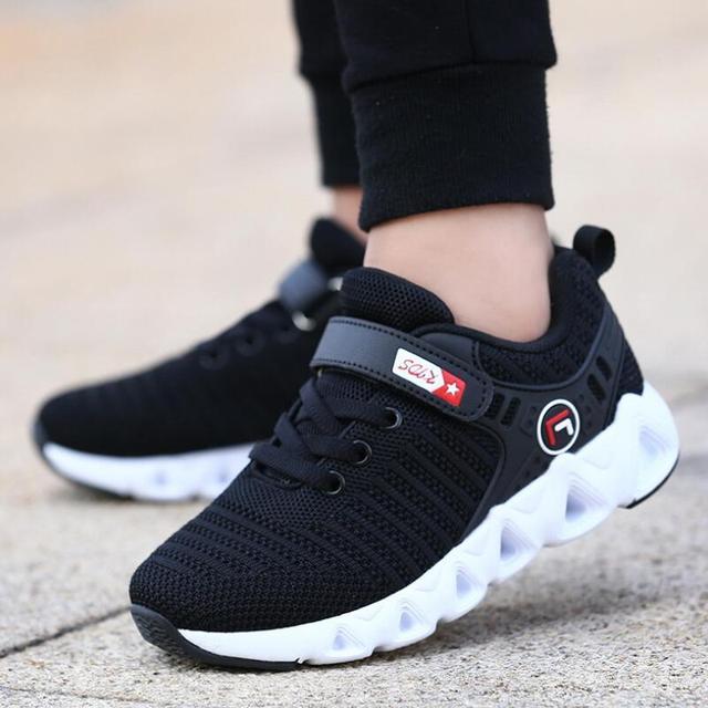 SKHEK ילדים נעלי בנות למעלה מותג נעלי ספורט בני נעלי איכות סניקרס ילדים מקרית Ruinning נעל בנות סניקרס 28 -36