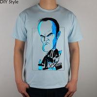Quentin Tarantino by JLRincon T-shirt Top Lycra Cotton Men T shirt New DIY Style