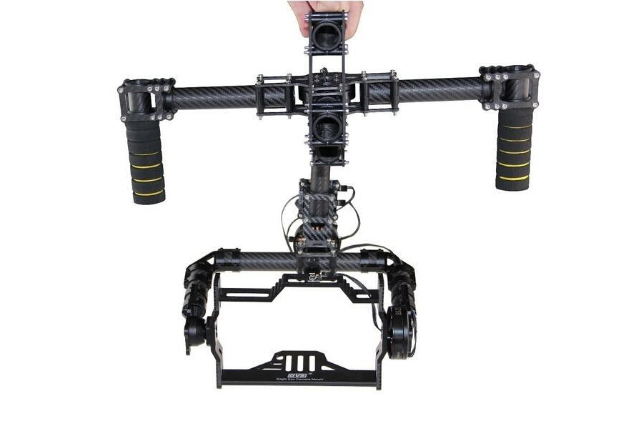 3 axis brushless gimbal camera handheld mount stabilizer with alexmos 8 bit  u0026 32 bit controller
