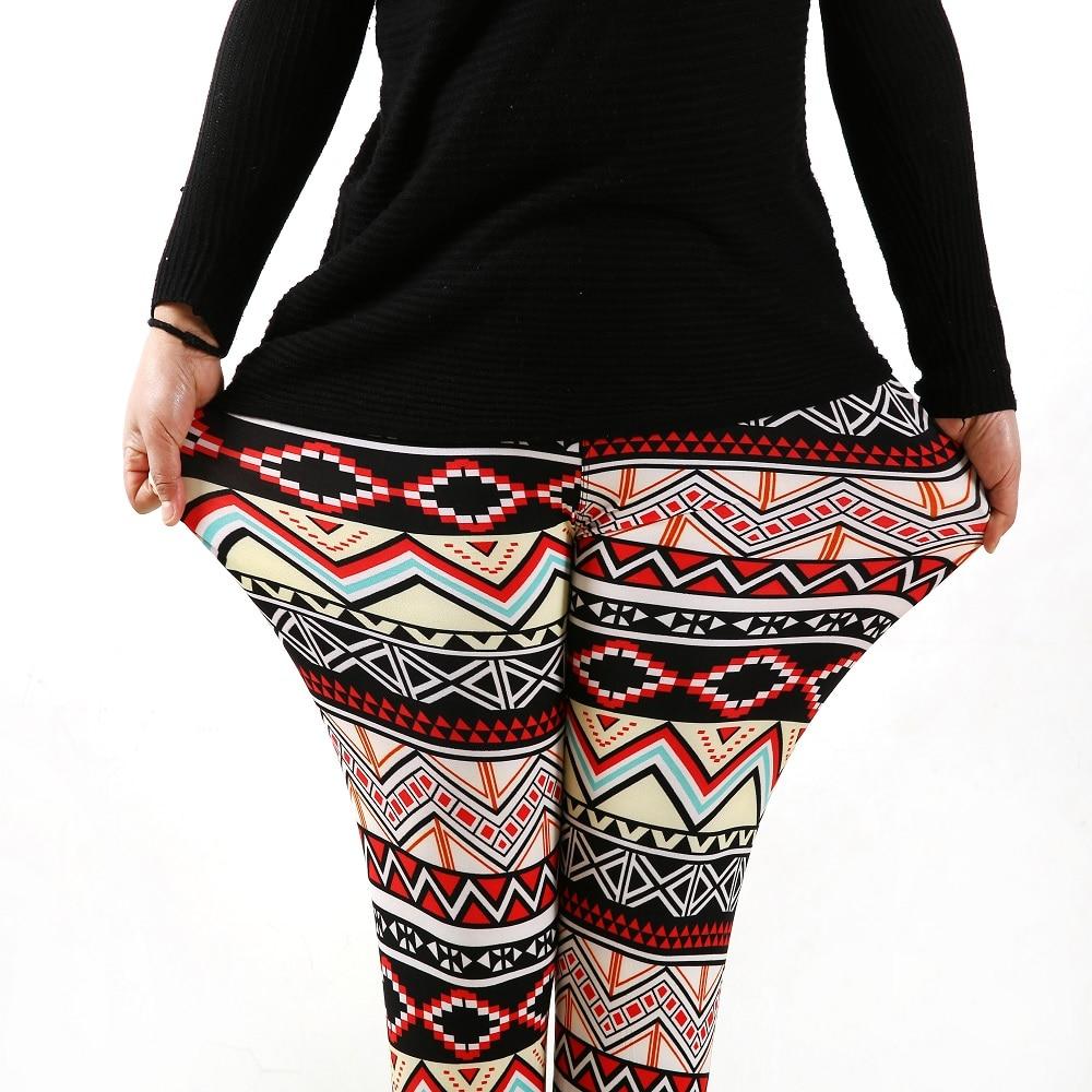 936fashion ženska dna visoke elastične hlače capris ugodno plus - Ženska odjeća - Foto 1