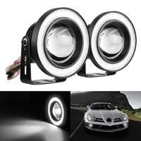 3.5 Pollici Dell'automobile Della Luce di Nebbia COB Proiettore LED Bianco Halo Anello DRL di Guida Lampadine Convenienza 17Aug23