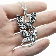 Buy firebird phoenix pendants and get free shipping on aliexpress 50pcs viking vintage firebird pendant phoenix fire bird necklace amulet jewelry for women menchina aloadofball Images