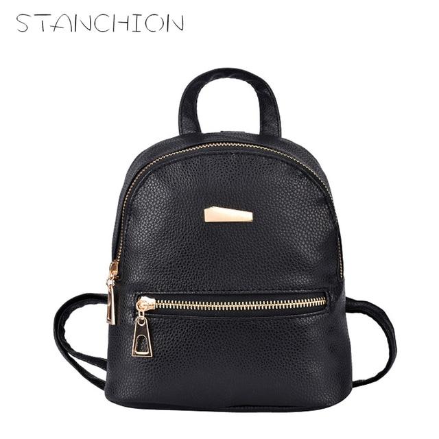 Stanchion New Small Fashion Rucksack Women Ping Purse Las Joker Bookbag Travel Bag Student School Backpacks