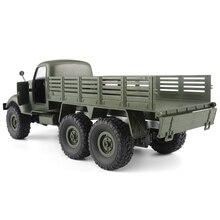 1/16 6WD voiture tout-terrain camion militaire radiocommandé chenille RC voiture télécommande jouets enfants son présent