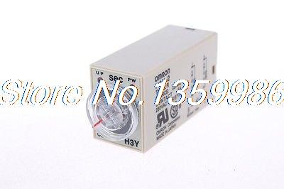 10pcs  time timer relay 8pin H3Y-2 H3Y DC12V  5A  0.2-5.0Seconds 5S free shipping new h3cr a8 multifunction timer time relay with 8 pin socket multi functional timer 100 220vac dc