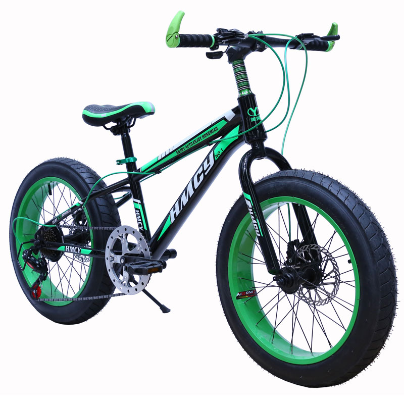 High Carbon Steel Frame 26 Inch Big Fat Tyre Mountain Snow Bike ...