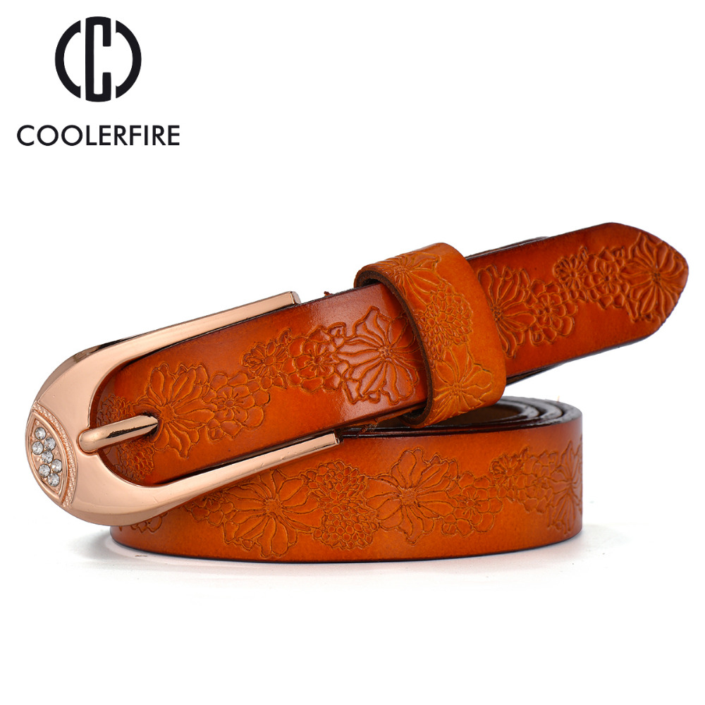 New 2019 Fashion Women   Belt   Brand Designer Hot Ladies Faux Leather Metal Buckle Straps Girls Fashion Accessories WH009