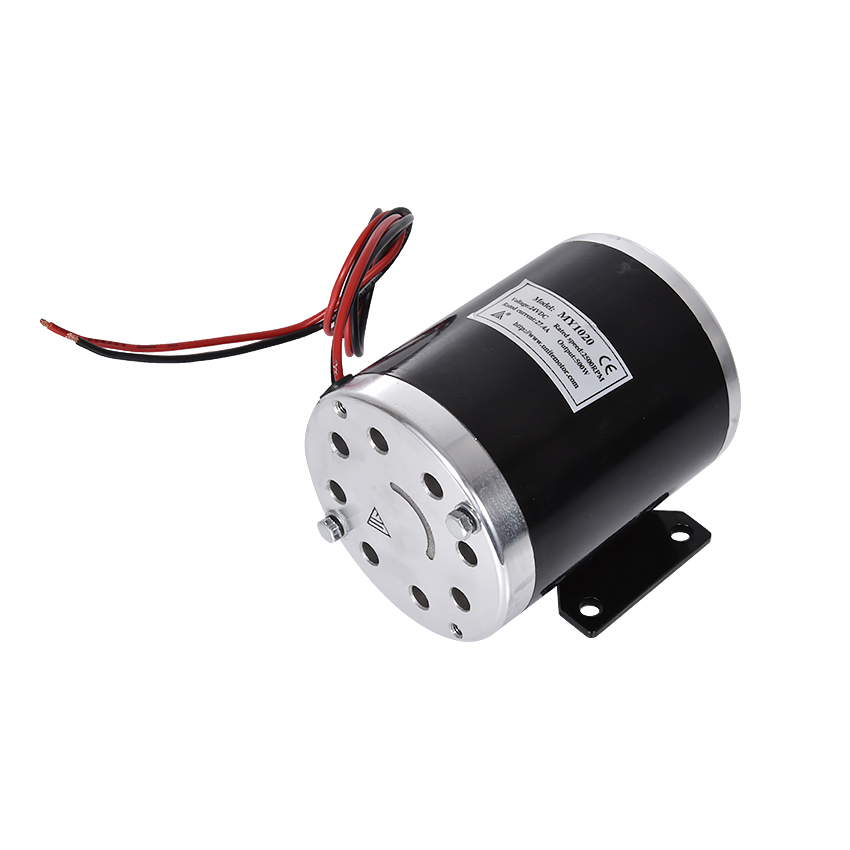 цена на MY1020 500 W 24V, 36V, 48V motor, electric tricycle brush motor, DC brushed motor with lower plate, electric motor Scooter