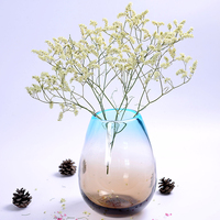 modern style colored Clear Glass Vase for decoration home decor Tabletop vases for flowers en verre Styling of mermaid terrarium