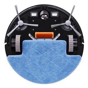 Image 3 - Robotlu süpürge wifi Akıllı navigasyon Emme süpürme ev kablosuz akıllı süpürge pet saç aspirateur odkurza