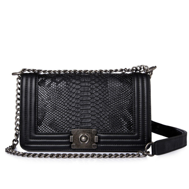 9e9b8baed357 Brand Fashion Woman Crossbody Bag Promotional Ladies Totes luxury PU  Leather Handbag Chain Shoulder Bag Plaid Women Bag