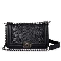 Brand Fashion Woman Crossbody Bag Promotional Ladies Totes Luxury PU Leather Handbag Chain Shoulder Bag Plaid