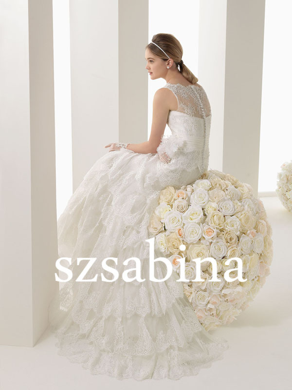Sh Custom Made Taobao Open Hot Sexy Girl Wedding Dress Lace Wedding Dress Elie Saab In Wedding Dresses From Weddings Events On Aliexpress Com