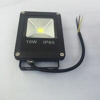 IP65 Waterproof Ultrathin Led Flood Light 10W Floodlight Black Shell Garden Lamp Spotlight Reflector Project For