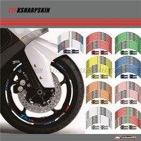 12 X Thick Edge Outer Rim Sticker Stripe Wheel Decals FIT YAMAHA TMAX530 TMAX500 TMAX 500