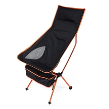 Portable Fishing Chair Aluminium Alloy Extended Chair For Outdoor Activities Water Resistance Fishing Chair For Camping Fishing