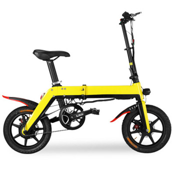 Electric motorcycle 36V10A endurance 40 kilometres Environmental lithium-ion battery Light body Folding bicycle image