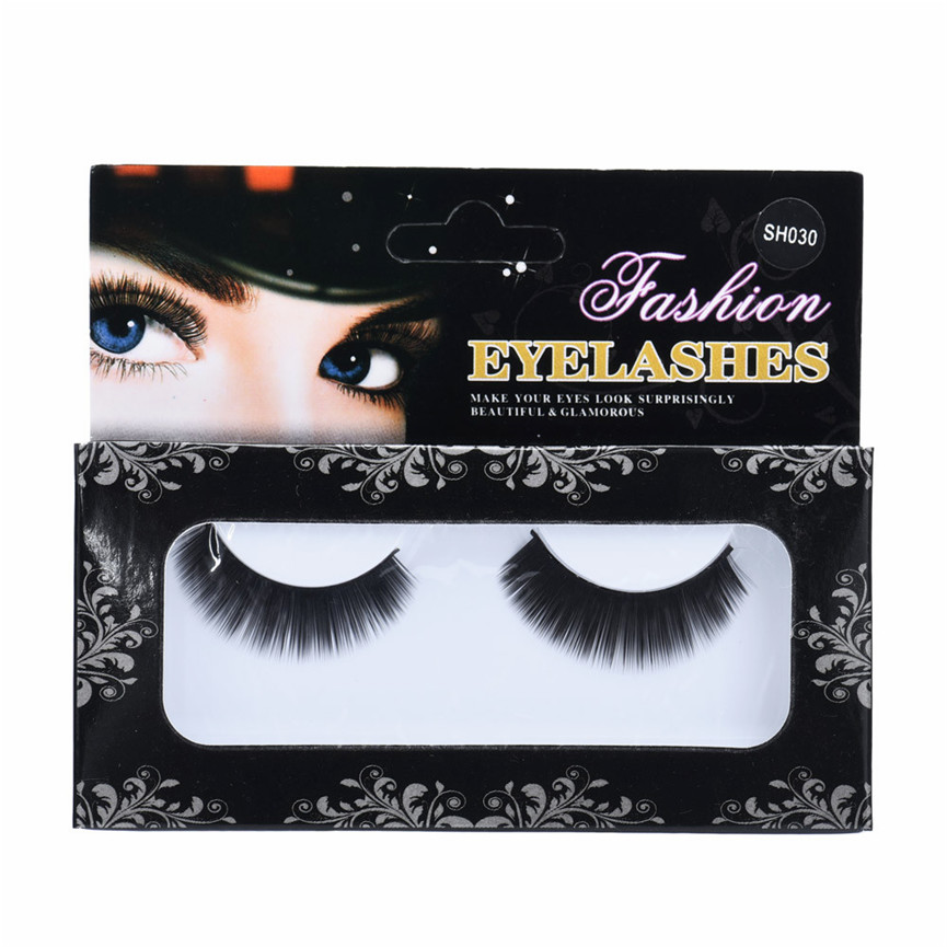 2018 Professional Natural long Thick Christmas Eye Lashes Party False Eyelashes Makeup Fake Eye Lashes Extention Pestanas falsas