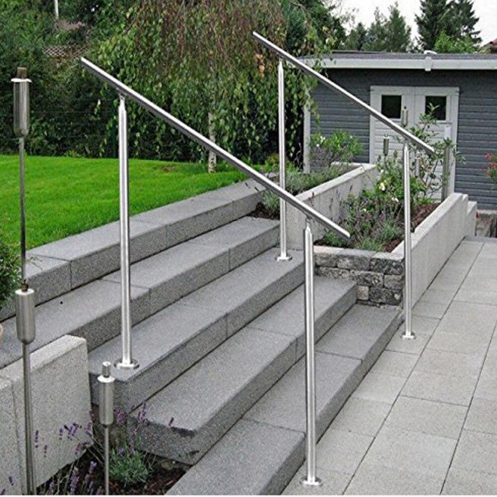 Pagar Stainless Steel Pegangan Tangga Railing Balkon Railing