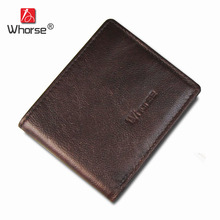 Hot Cheap Price Slim Thin Genuine Leather Men Wallet Small Man Cowhide
