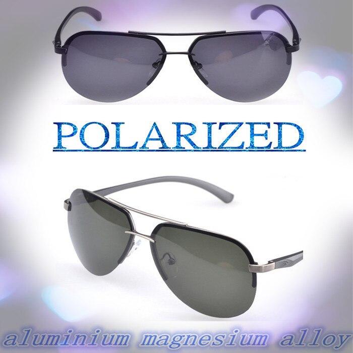 2015 aluminium magnesium alloy fashion Navigation font b Men b font polarized sunglasses sun font b