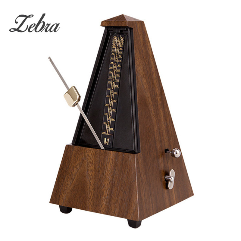 Antique Vintage Style Mechanical Bell Ring Metronome Online Audible Click For Guitar Bass Piano Violin Seth Thomas New