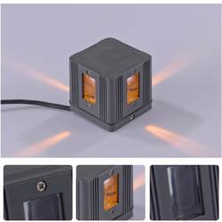 3 Вт IP65 4Led Водонепроницаемый площади настенный светильник светодиодный настенный светильник AC85-265V настенные бра украшение для KTV диско-бар