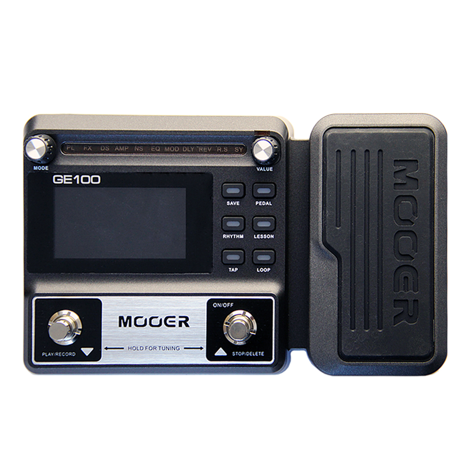 MOOER GE100 Guitar effect Multi-Effects Processor Large high brightness LCD display pedal Guitar Effect pedal sitemap 112 xml