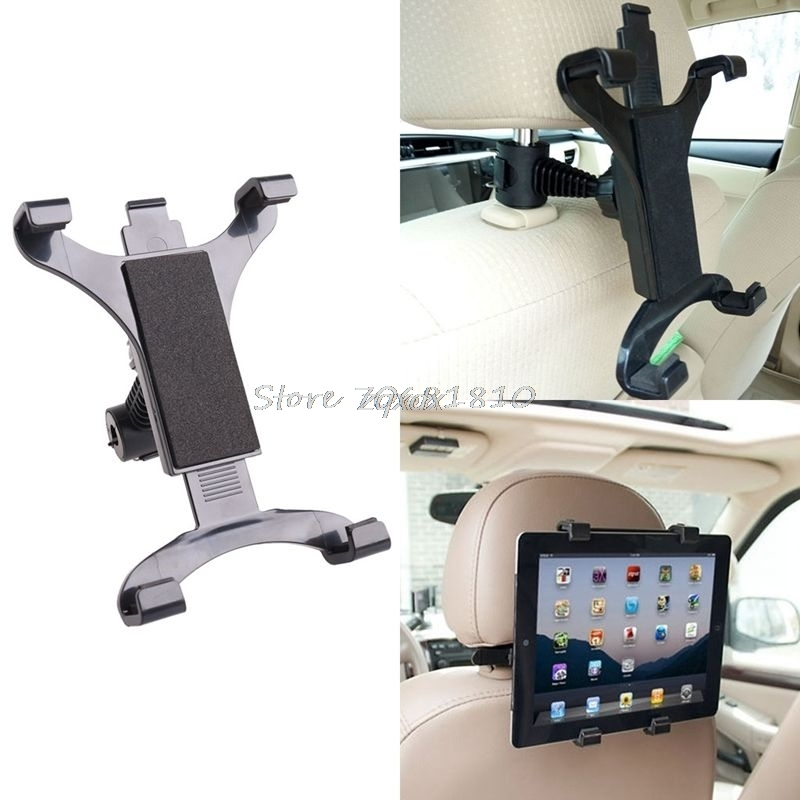 פרימיום רכב מושב אחורי משענת ראש הר Stand מחזיק עבור 7-10 inch Tablet/GPS עבור IPAD Z17 Drop ספינה