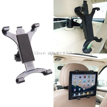 Premium Car Back Seat Headrest Mount Holder Suporte Para 7-10 Polegada Tablet/GPS Para IPAD Z17 Gota navio(China)
