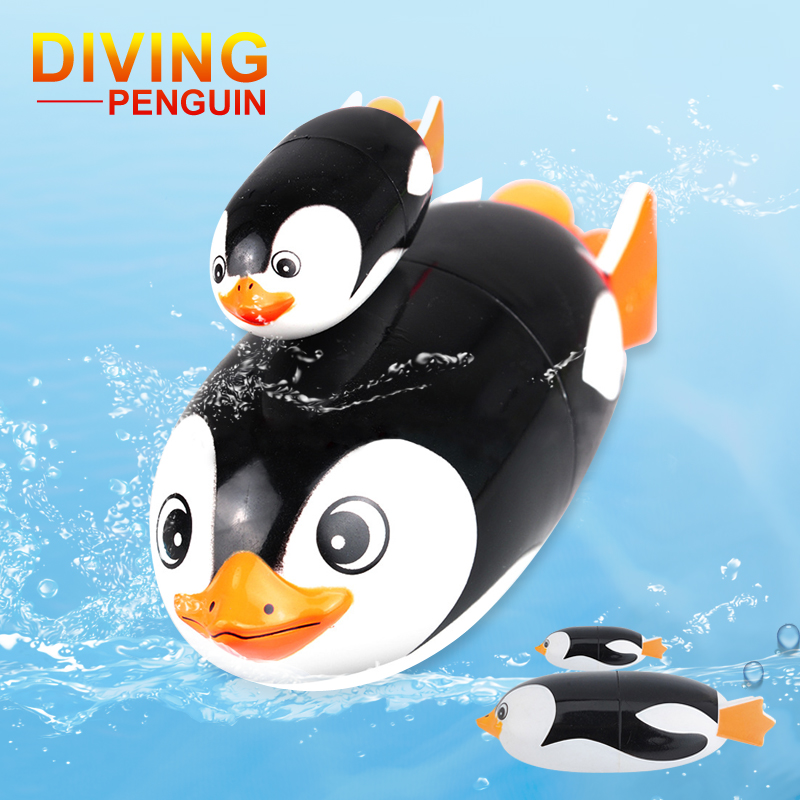 Baby Children's Gifts Electric Diving Toy Penguin High-strength Waterproof Toy Underwater Swimming Pool Toy Novelty & Gag Toys