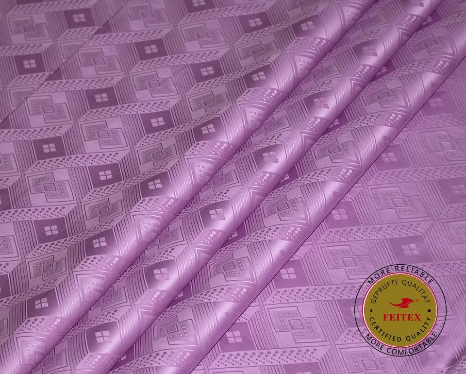 Bavlněné tkaniny podobné Getzner kvalitě Bazin Riche Textilní výprodej Shadda Brocade pro vyšívání Svatební oblečení 2019 FEITEX