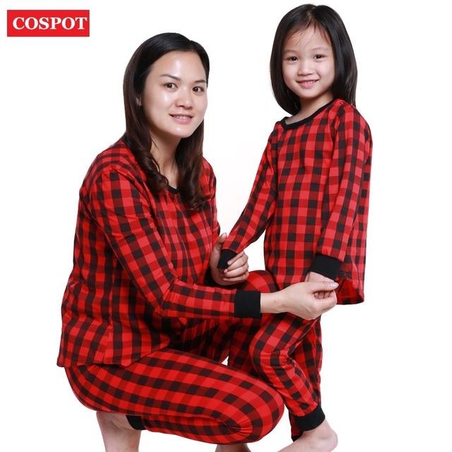 c577899d6117 COSPOT Mather and Daughter Christmas Pajamas Set Family Matching ...