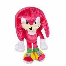 New Sonic 25th Anniversary Knuckles Plush Sonic the Hedgehog Boom 8″ Action Figure Toy