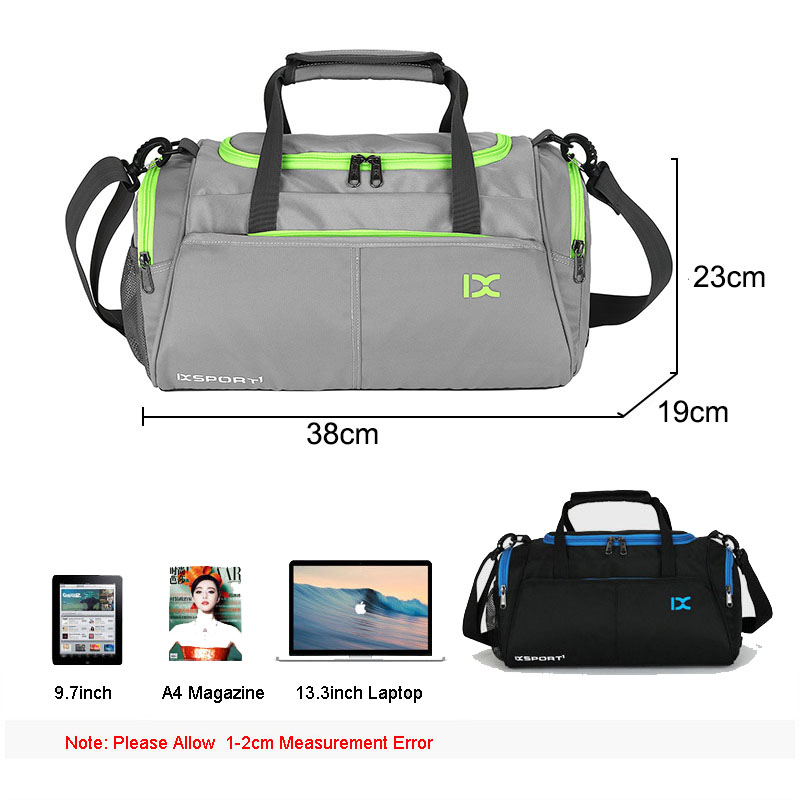 Sport Bag Training Gym Men Fitness Travel Bags Outdoor Sports Handbag Shoulder Tote with shoes storage For Male Women Bag X77WA