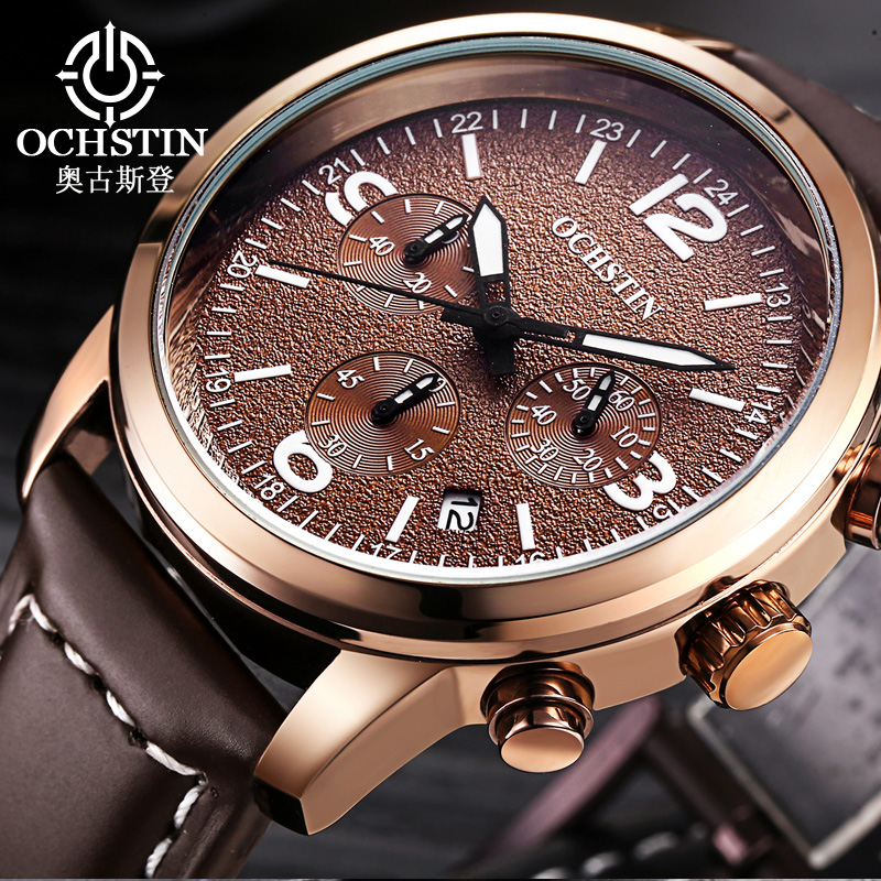 OCHSTIN Sport Watch Ерлерге арналған сағаттар Top Brand Luxury Clock Ер Ерекше Ерлер Еркек Еркек Ерлер Quartz-Watch Relogio Masculino қобалжуы