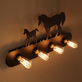 Lit En Métal Antique | Américain E27 Edison Ampoule Art LOFT Chambre Industrielle Vintage Industrielle Café Magasin Escalier Antique Applique Murale Applique Luminaria