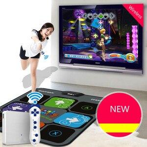 Dragon konsola bezprzewodowa mata do tańca tv komputer pojedynczych graczy podwójnego zastosowania nowy masaż joga taniec maszyna odchudzanie gra darmowa wysyłka