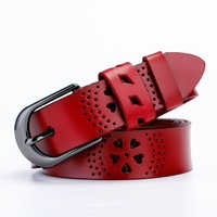 Cinturón De Cuero para mujer, pretina femenina a la moda, cinturones De Cuero para mujer, Correa De Cuero para mujer, ancho De Las correas De Cuero: 2,8 cm