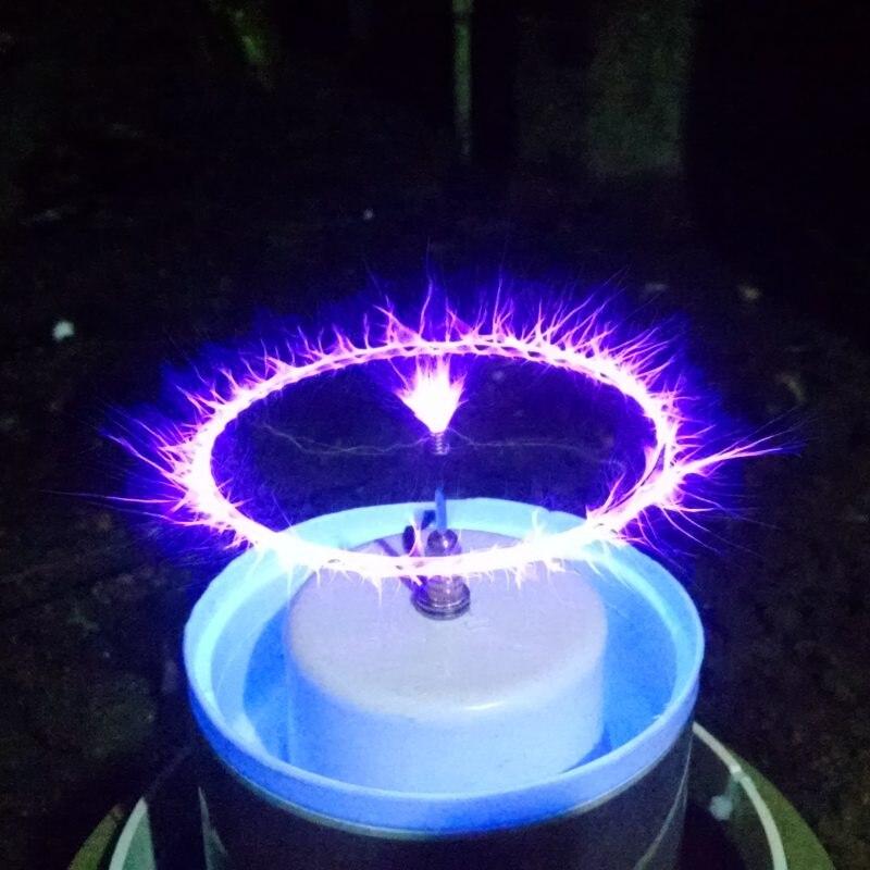 Falante Plasma Arc altifalante bobina de tesla música incrível piscando Gerador experimento de Ensino