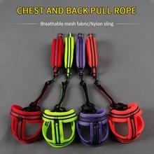 Nylon Heavy Duty Pet Dog Harness Collar Adjustable Dogs Leash Rope Belt Vest Husky Supplies