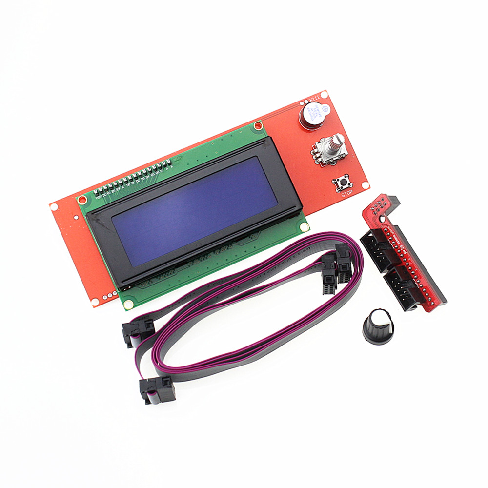 Promotion 3D Printer Kit Reprap Smart Parts Controller Display Reprap Ramps 1.4 2004 LCD LCD 2004 Control